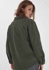 Fransa - FXTAHIR - Summer jacket - dark olive - 1