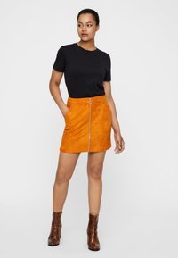 Vero Moda - A-line skirt - honey ginger - 1