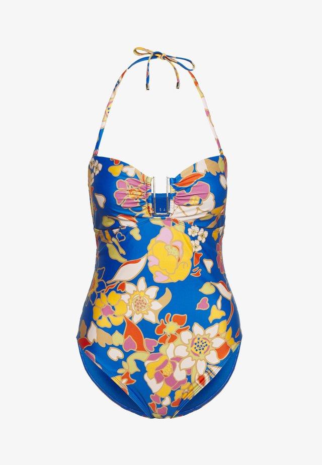 PINATA BAR SWIMSUIT - Swimsuit - blue