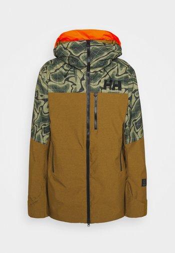 STRAIGHTLINE LIFALOFT JACKET - Snowboard jacket - uniform green