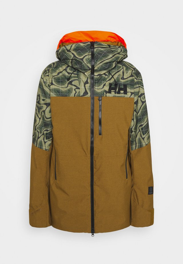 STRAIGHTLINE LIFALOFT JACKET - Kurtka snowboardowa - uniform green