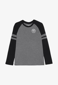 Abercrombie & Fitch - FOOTBALL TEE - Langærmede T-shirts - grey/black - 2