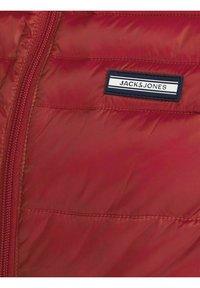Jack & Jones - JJEACE BODYWARMER COLLAR NOOS - Liivi - red dahlia - 6