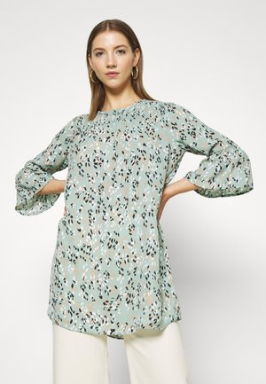 JDYCAMILLE TUNIC - Tunic - blue surf/light pink/black/white