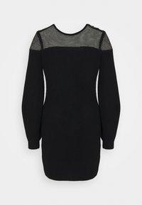 Elisabetta Franchi - WOMAN'S DRESS - Vestido de punto - nero - 1