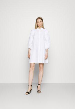 ELAINA DRESS - Shirt dress - bright white