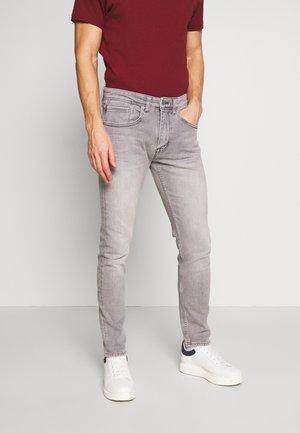 Jeans slim fit - grey/black