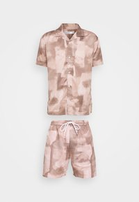 ABSTRACT TWIN SET - Shorts - beige
