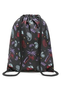 Vans - UA BENCHED - Sports bag - plaid pink/black/blue - 1