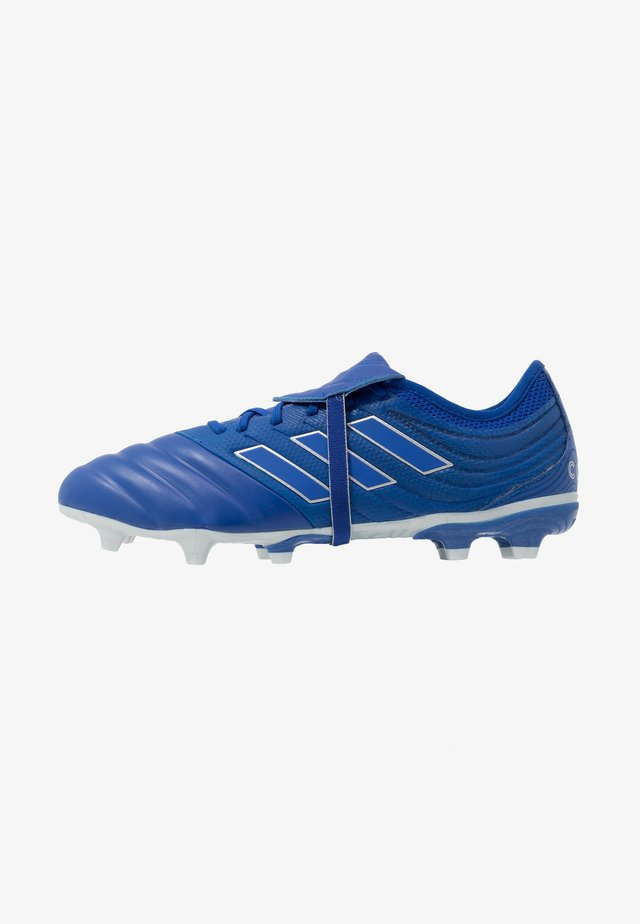 COPA GLORO 20.2 FOOTBALL BOOTS FIRM GROUND - Moulded stud football boots - royal blue/silver metallic