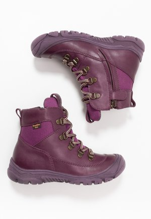 LINZ TEX LACES MEDIUM FIT - Lace-up ankle boots - purple
