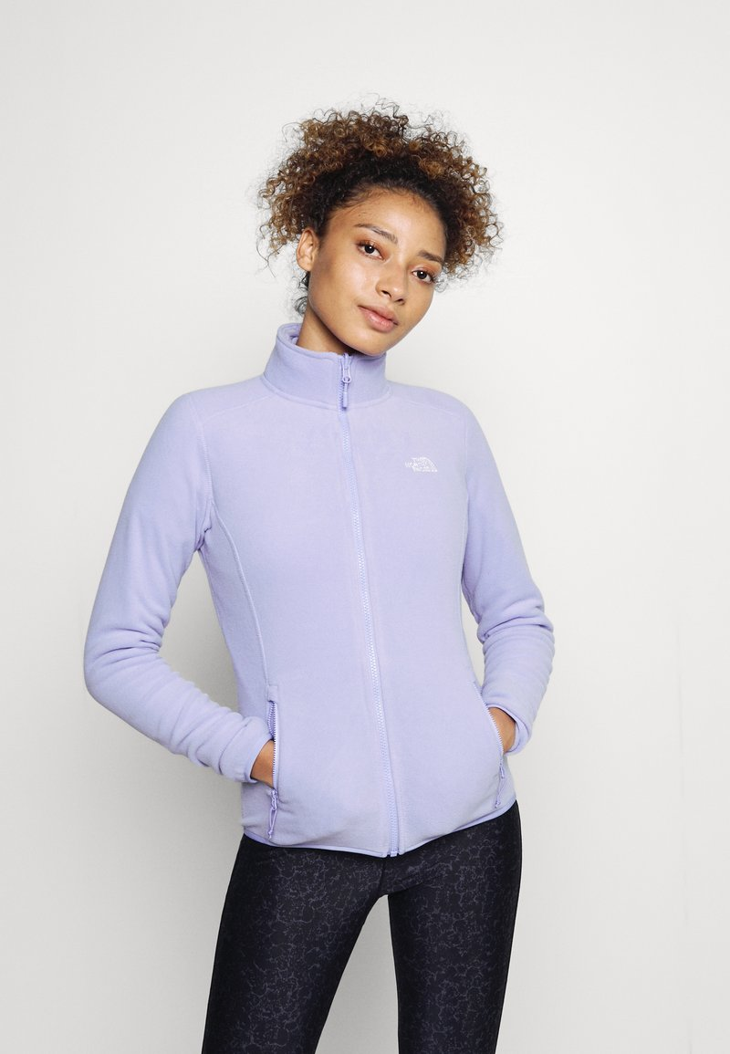 The North Face - GLACIER FULL ZIP - Giacca in pile - sweet lavender