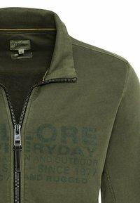 camel active - Zip-up sweatshirt - olive brown - 6