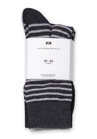 WE Fashion - 5 PACK - Socks - grey - 1