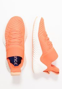 adidas Performance - ALPHABOUNCE TRAINER  - Treningssko - hi-res coral/glow orange/core white - 1