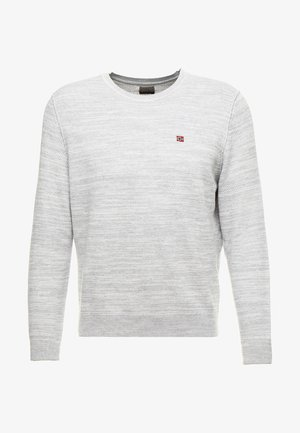 DUEVILLE  - Stickad tröja - medium grey melange