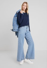 edc by Esprit - DOUBLE - Long sleeved top - navy - 1