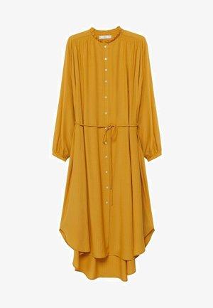 FARM - Sukienka koszulowa - senfgelb