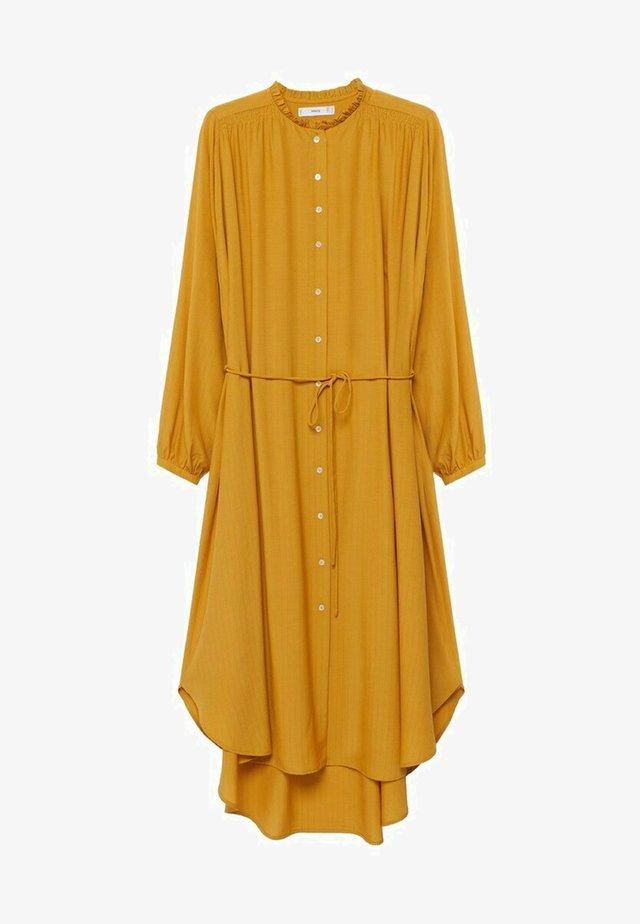 FARM - Shirt dress - senfgelb