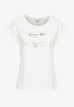 BETA - Print T-shirt - snow white gold world