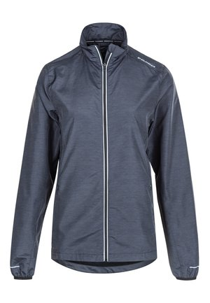 KANIE W MELANGE - Training jacket - 1111 black melange