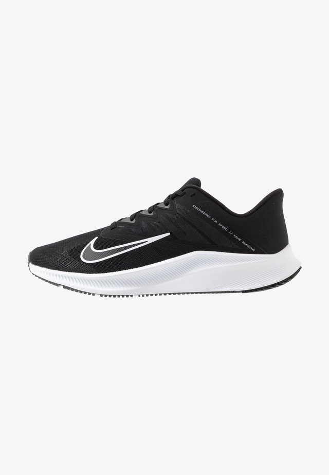 QUEST 3 - Scarpe running neutre - black/white/iron grey