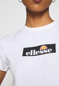 Ellesse - OMBRA - T-shirts print - white - 5