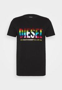 Diesel - PRIDE BMOWT-DIEGO-NEW - T-shirts print - black - 4