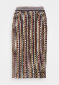 M Missoni - Pouzdrová sukně - multicolor - 4