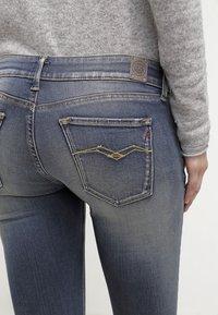 Replay - HYPERFLEX LUZ - Jeans Skinny Fit - stone blue - 6