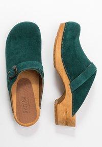 Sanita - HEDI OPEN - Clogs - dark green - 3