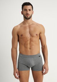 Schiesser - 2 PACK - Pants - mottled grey/black - 1