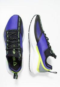 Reebok - SOLE FURY TS - Zapatillas de entrenamiento - purple/black/neon lime - 1
