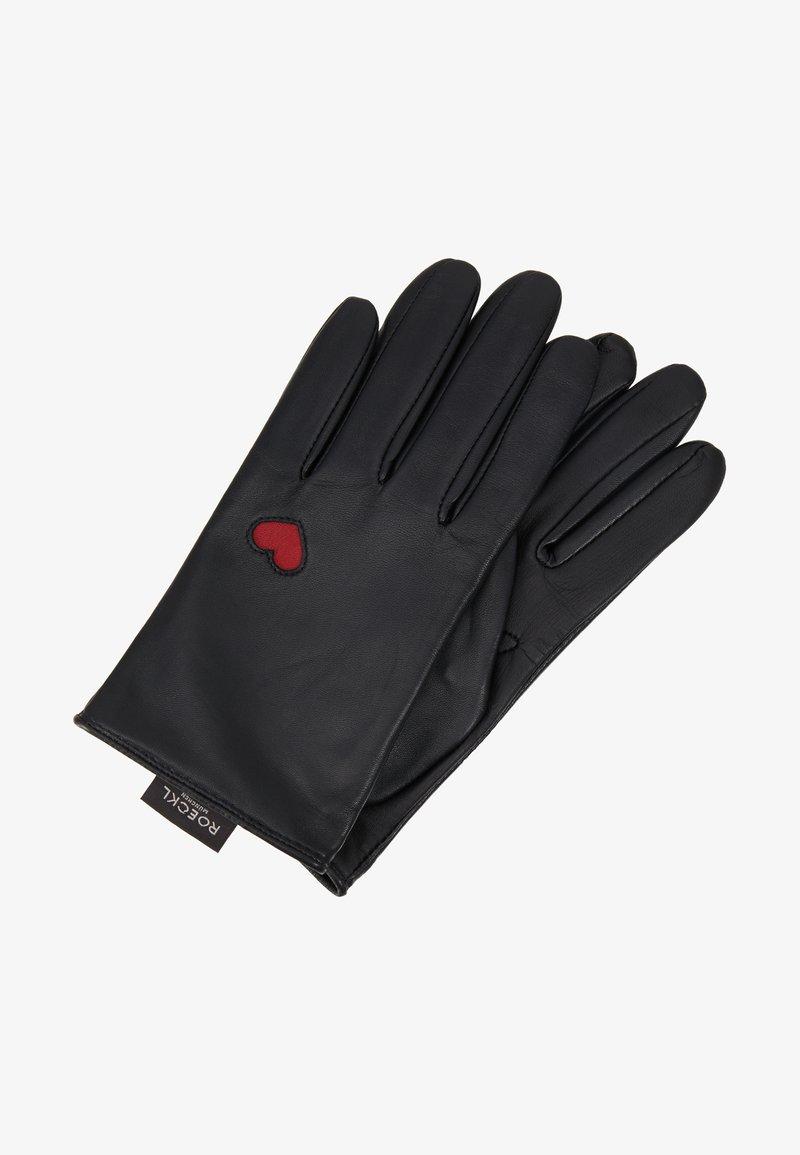 Roeckl - HEARTS - Rukavice - black