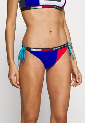 CHEEKY STRING SIDE TIE - Bikini bottoms - cobalt