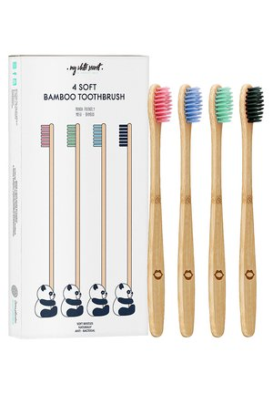 BAMBOO TOOTHBRUSH SET - Bad- & bodyset - -