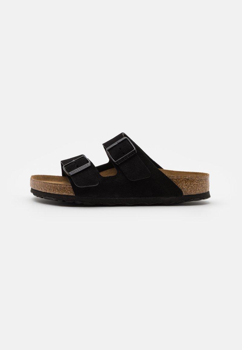 Birkenstock - ARIZONA SOFT FOOTBED UNISEX - Klapki - black