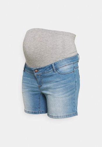 MLPASO HIGH BACK - Denim shorts - light blue denim/wash