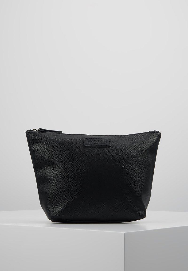 Burton Menswear London - BLACK SAFFIANO WASHB - Wash bag - black
