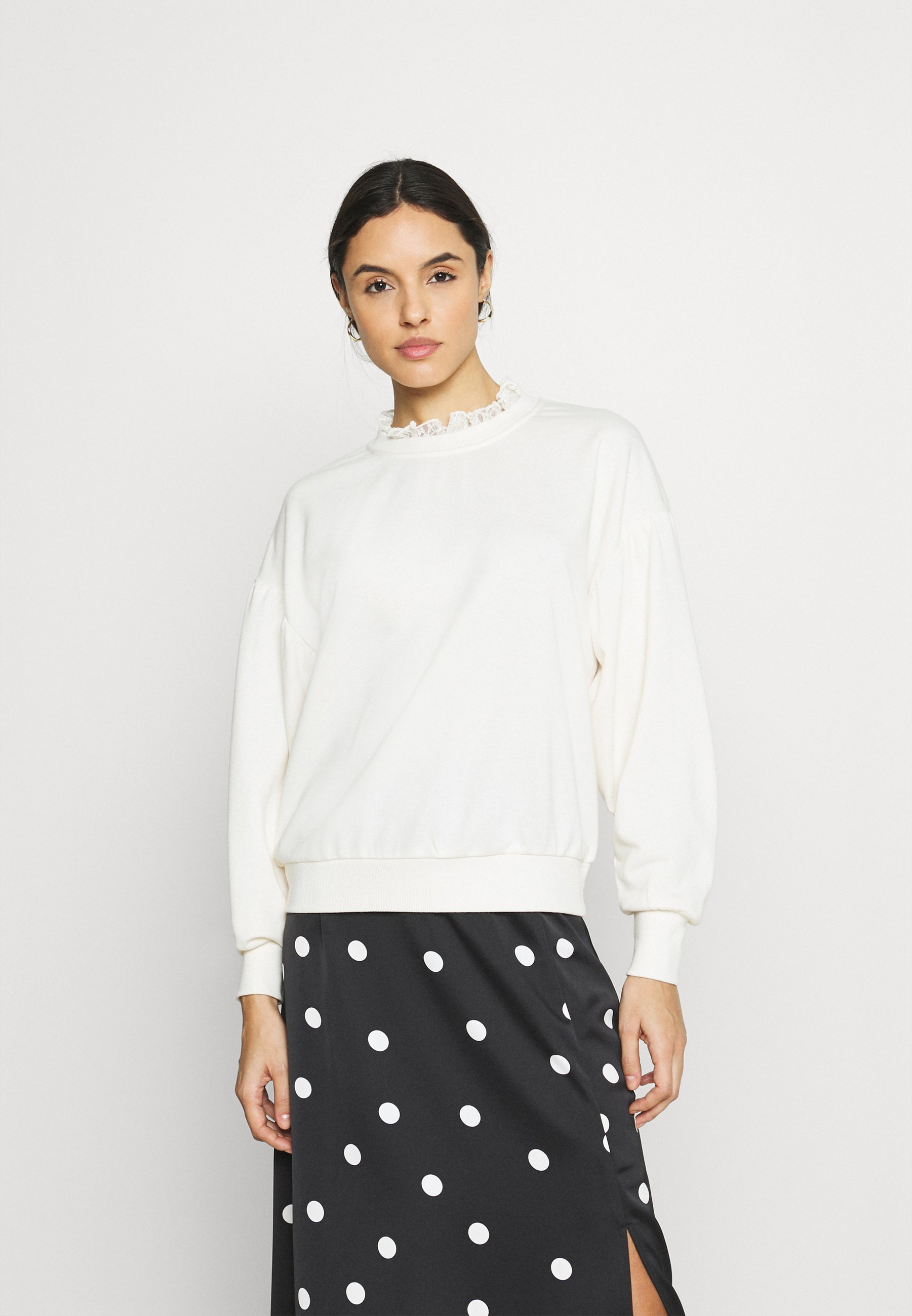 Women ONLLISA O NECK - Sweatshirt