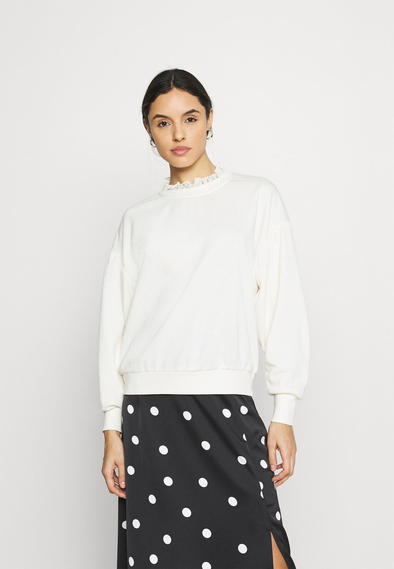 ONLY - ONLLISA O NECK - Sweater - ecru