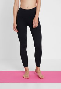 Cotton On Body - ACTIVE HIGHWAIST CORE - Punčochy - black - 0