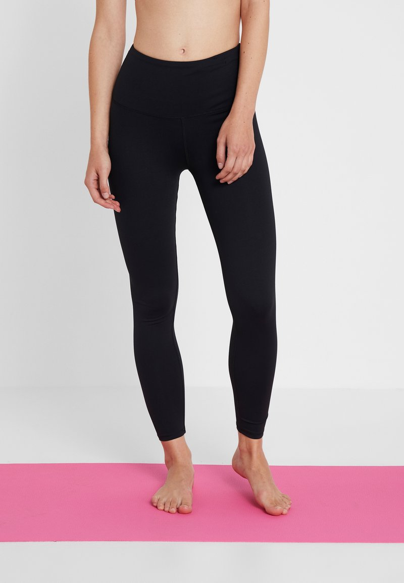 Cotton On Body - ACTIVE HIGHWAIST CORE - Punčochy - black