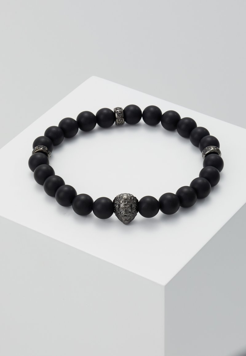 Guess - BEADS LION DETAIL  - Armbånd - gunmetal