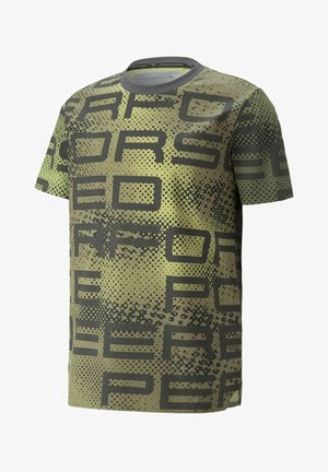 PORSCHE DESIGN GRAPHIC - Print T-shirt - asphalt