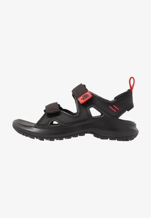 HEDGEHOG  - Walking sandals - black/asphalt grey