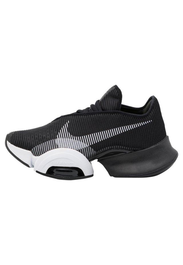 AIR ZOOM SUPERREP 2 UNISEX - Chaussures d'entraînement et de fitness - black/white