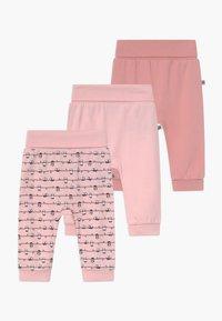 Jacky Baby - PANDA LOVE 3 PACK - Trousers - light pink - 0