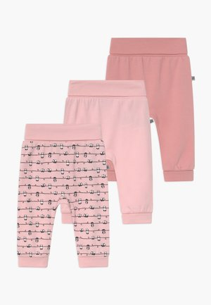 PANDA LOVE 3 PACK - Stoffhose - light pink