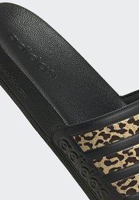 adidas Performance - CHANCLA ADILETTE SHOWER - Pool slides - black - 5